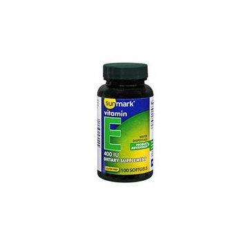 Sunmark Vitamin E Softgels, 400 IU, 100 Caplets
