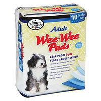 Four Paws Wee-Wee Adult Dog House Breaking Pads, 10 Pack