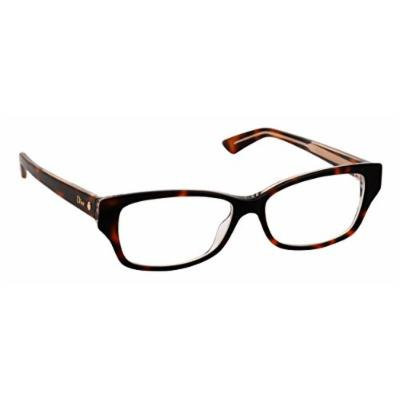 Christian Dior Women's Eyewear Frames Montaigne10 54mm Havana Crystal G9Q
