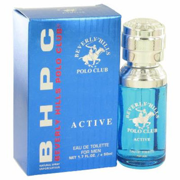 Beverly Hills Polo Club Active for Men by Beverly Fragrances EDT Spray 1.7 oz