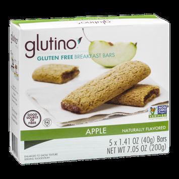 Glutino Gluten Free Breakfast Bars Apple  - 5 CT