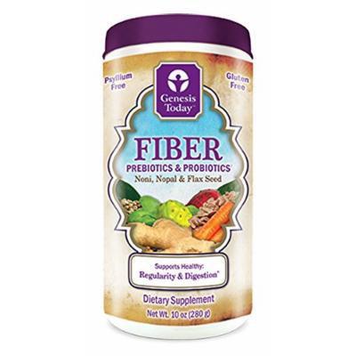 Genesis Today Fiber Prebiotics & Probiotics (10 Oz, 20 Day Supply)