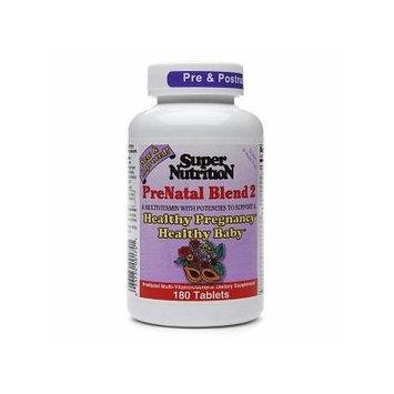 Super Nutrition PreNatal Blend 2, Tablets 180 ea