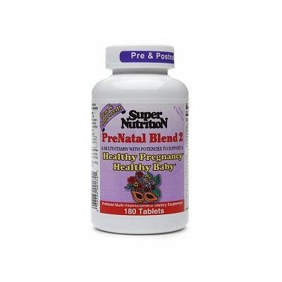Super Nutrition PreNatal Blend 2, Tablets 180 ea