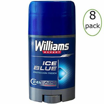 Williams Ice Blue Deodorant Stick 75ml Pack of 8