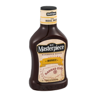 KC Masterpiece Barbecue Sauce Honey