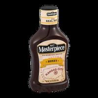 KC Masterpiece Barbecue Sauce Honey
