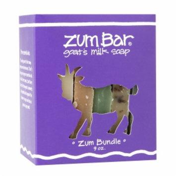 Zum Bar Goat's Milk Soap, Bundle in a Box, 9 oz