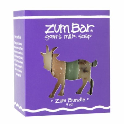 Zum Bar Goat's Milk Soap, Bundle in a Box, 9 oz