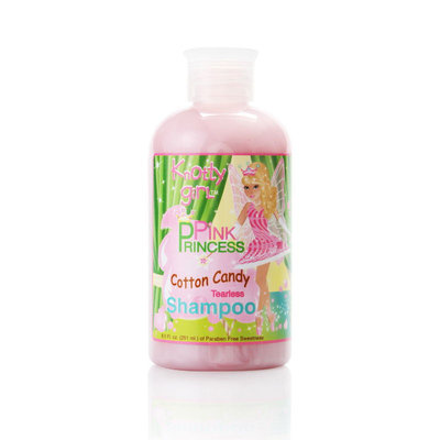 Knotty girL Pink Princess Cotton Candy