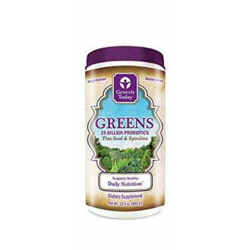 Genesis Today Greens Daily Nutrition (15.5 Oz Container, 30 Day Supply)