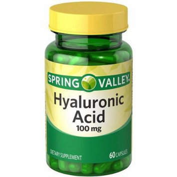Spring Valley Hyaluronic Acid, 100 Mg, 60 Capsules