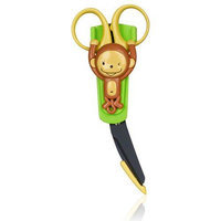 Japonesque Baby First Aid Safety Scissors, Monkey