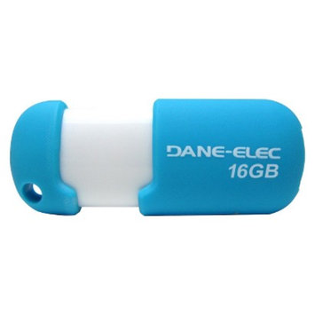 Dane-Elec 16GB USB Flash Drive w/Cloud - Blue/White (DA-Z16GCN5D1-C)