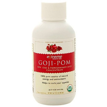 Extreme Health USA Extreme Health's Goji Pomegranate, Goji Berry and Pomegranate Concentrate, 2-Ounce Packages (Pack of 2)