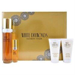 Elizabeth Taylor 'White Diamonds' Women's Four-piece Fragrance Set