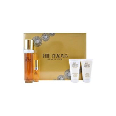 Elizabeth Taylor 'White Diamonds' Women's Four-piece Fragrance Set
