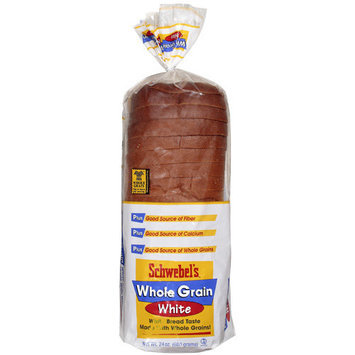 Schwebel's Schwebel?s Whole Grain White Bread, 24 oz