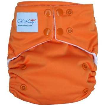 Oh Katy One Size Pocket Diaper, Melon (Discontinued by Manufacturer)