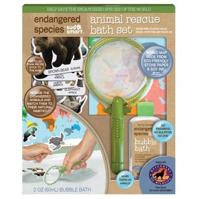 Endangered Species by Sud Smart Animal Rescue Bath Set, Small