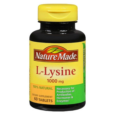 Nature Made Extra Strength L-Lysine