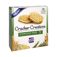 Lance Cracker Creations Parmesan Herb Seasoned Crackers - 12 CT
