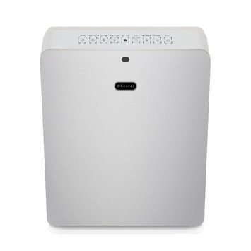 Whynter Air Purifiers EcoPure HEPA System Air Purifier in Silver Metallics AFR-425-SW