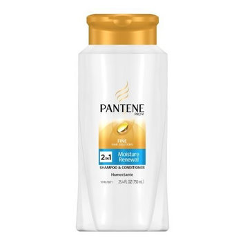Pantene Pro-V Fine Hair Solutions Moisture Renewal 2-in-1 Shampoo & Conditioner