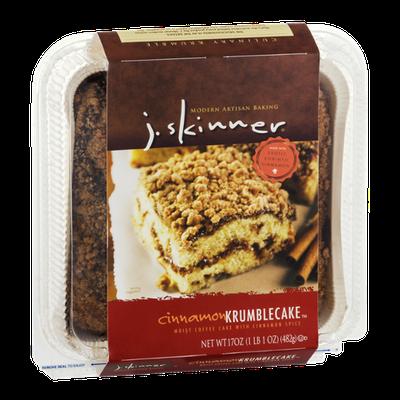 J. Skinner Krumblecake Cinnamon