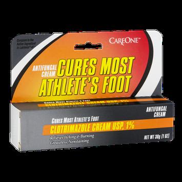 CareOne Antifungal Cream Cures Most Athlete's Foot