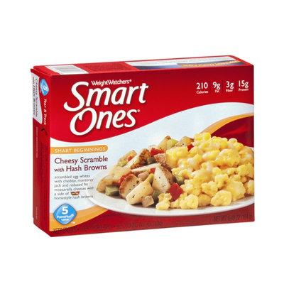 Weight Watchers Smart Ones Smart Beginnings Cheesy Scramble with Hash Browns
