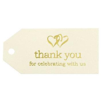Hortense B. Hewitt Linked At Heart Thank You Favor Cards