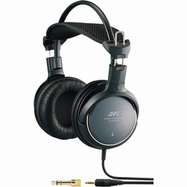 Slide: JVC Company of America High-Grade Full-Size Headphone