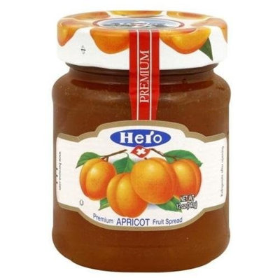 United Natural Trading Co (Hershey Import) Hero Fruit Spread, Apricot, 12-Ounce (Pack of 8)