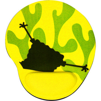 Sakar SpongeBob Memory Foam Pad with Wrist Rest