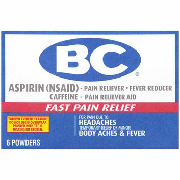 BC Headaches/Body Aches & Fever Aspirin Pain Reliever/Fever Reducer Powders