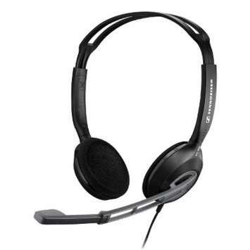Sennheiser Corded Headset With Active Noise Cancelling - Black -
