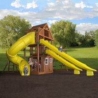 Backyard Discovery Adventure Playsets Traverse All Cedar Swingset