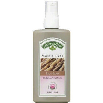 Nature's Gate Rice Bran Moisturizer, 4 fl oz