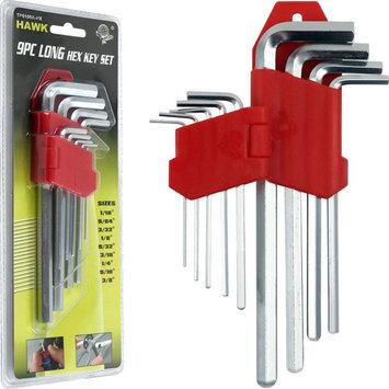 Trademark Tools 9 piece Long Hex Allen Wrench Set