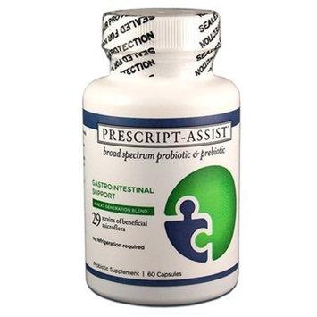 Prescript-Assist Broad Spectrum Probiotic Prebiotic Complex (60 Caps)
