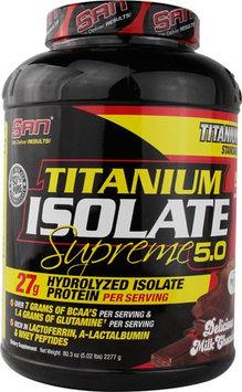 San Titamium Isolate Supreme 5.0 Milk Chocolate 5.02 oz