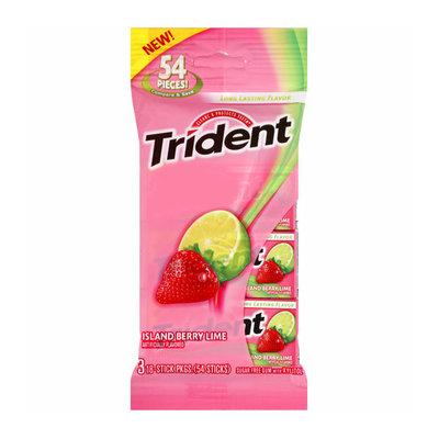 Trident Island Berry Lime Sugar Free Gum
