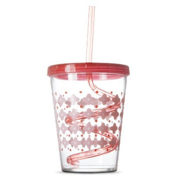 Circo Crazy Straw Cup Set of 2 - Pink