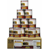 Survival Cave Food Canned Beef, 12 - Pk. / 14 1/2 - oz. cans