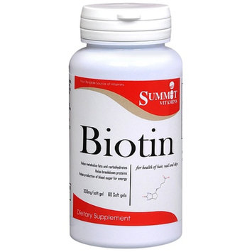 Summit Vitamins Biotin Softgels