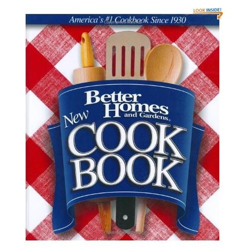 Cook Book (Better Homes & Gardens New Cookbooks)