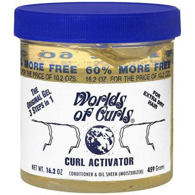 Worlds Of Curls Curl Activator Conditioner & Oil Sheen Gel