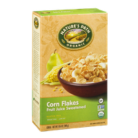 Nature's Path Organic Corn Flakes Fruit Juice Sweetened Cereal