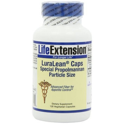 Life Extension Luralean (Special Propolmannan Particle Size) Vegetarian Capsules, 120-Count